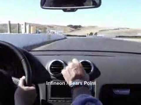 One lap at Sears Point / Infineon Raceway Sonoma, CA Video