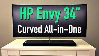 """HP Envy 34"""" Curved All-in-One Review! (2017)"""