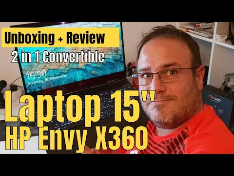 Unboxing HP Envy X360 15 / 2 in1 Convertible Laptop Review / Perfekter Laptop mit Ryzen 7 ?