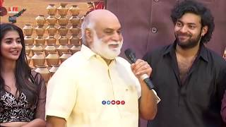 Director Raghavendra Rao making Hilarious Fun With Pooja Hegde || Varun Tej || Life Andhra Tv