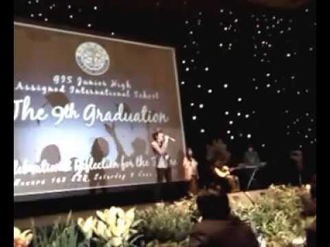 Iqbal (coboy Junior) Perform Di Wisuda Smp Global Islamic School video
