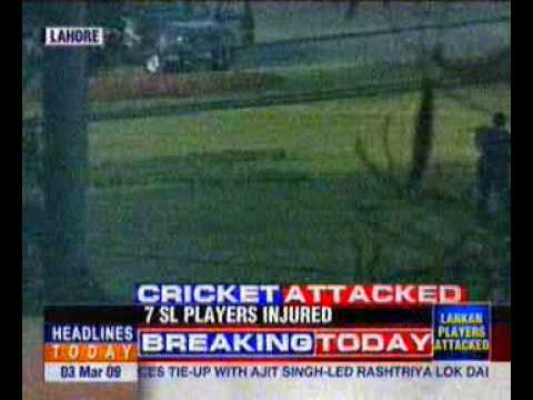 attack on the Sri Lankan cricket team in Lahore 03/03/09