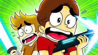 Desenho Animado Historia Em Portugues ☆ A GUERRA DOS YOUTUBERS (ft Cellbit)