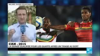 CAN-2015 | la Guinée, tirée au sort face au Mali, rejoint les quarts de finale