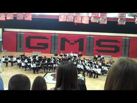 Pirates of the Caribbean- Gainesville Middle School Concert Band