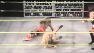 Hot bra & panty removal fight from WWF ladies