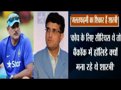 Sourav Ganguly vs Ravi Shastri, Fight Over Team India Coach Goes Public