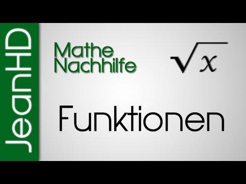 Mathe Nachhilfe - Funktionen