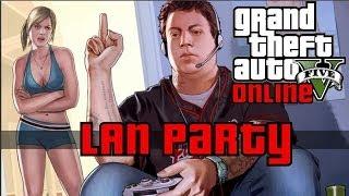 GTA V Online First Impressions - LAN Party