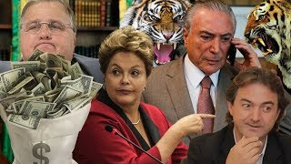 Fábio Rabin - Grana do Geddel / Audio Joesley / Lula , Dilma e Temer