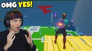 faze asked me to try their trickshot course... (so good)