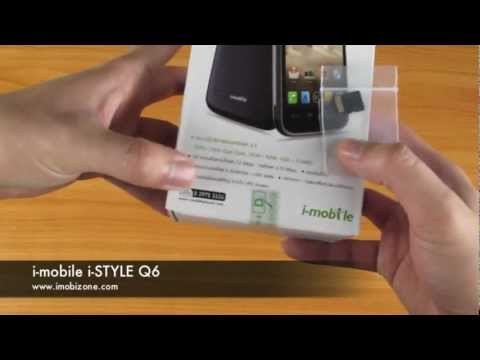 แกะกล่อง i-mobile i-STYLE Q6 : CPU 1GHz DualCore Android 4.0 ICS 4.3