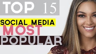 TOP 15 MISS UNIVERSE 2018 - BASED ON SOCIAL MEDIA POPULARITY (October Edition))