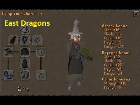 RuneScape 2007 Pk Video 3 | Karils Crossbow | Ice Barrage | East Dragons | [Scrub My Tub]