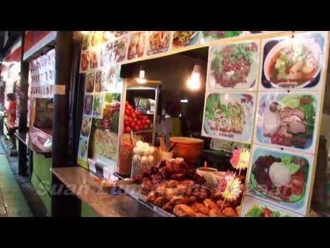 タイ バンコク 観光 - スアン・ルムナイトバザール Suan Lum Night Bazaar