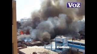 Incendio En El Callao (18-abril-2013)