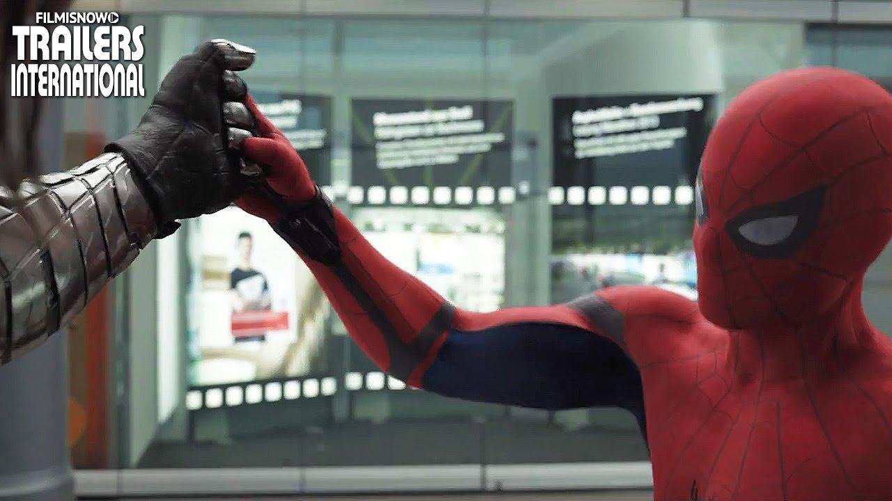 Capitão América: Guerra Civil | Novo spot com Spider-Man [HD]