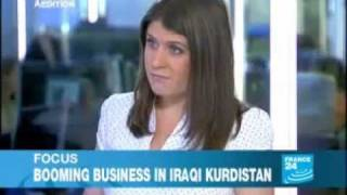 France 24 - The iraqi Kurdistan
