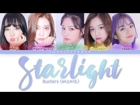 Download Busters 버스터즈 – Starlight 별 헤는 밤 s Color Coded Han/Rom/Eng Mp4 baru