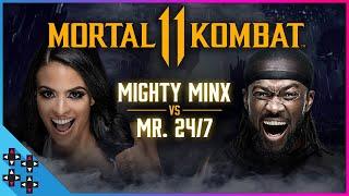 KOFI KINGSTON vs. ZELINA VEGA – Mortal Kombat 11 Gamer Gauntlet