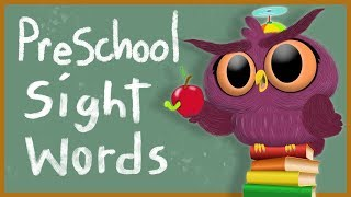📖  40 Preschool Sight Words - How to Read - Dolch sightwords 📖