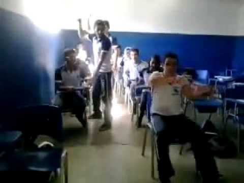 funny driving in school fake