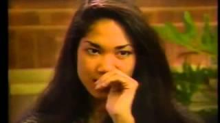 Rare Kimora Lee Simmons Modeling Interview 1990