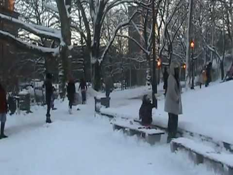 Travel Stalls As Snow Storm Hit North-East Coast States of US--RR