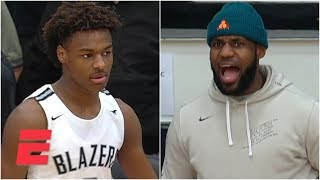 Duke commit Jeremy Roach outshines Bronny James, Sierra Canyon in front of LeBron | Prep Highlights