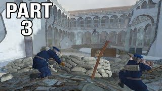 Call of Duty 2 Spanish Civil War Gameplay Part 3 - Alcazar Assault