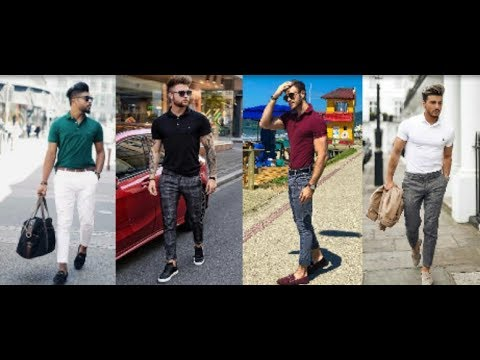 New Mens T-Shirt & Pant Formal Style 2018 | How Do Style With Formal T-Shirt & Pant | PBL