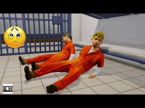GTA 5 REAL LIFE TEEN MOD SS2 #5 PRISON 😭