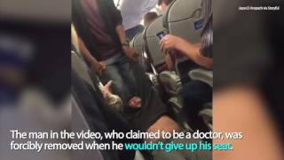 VIDEO: Passenger Removed From United Airlines Flight