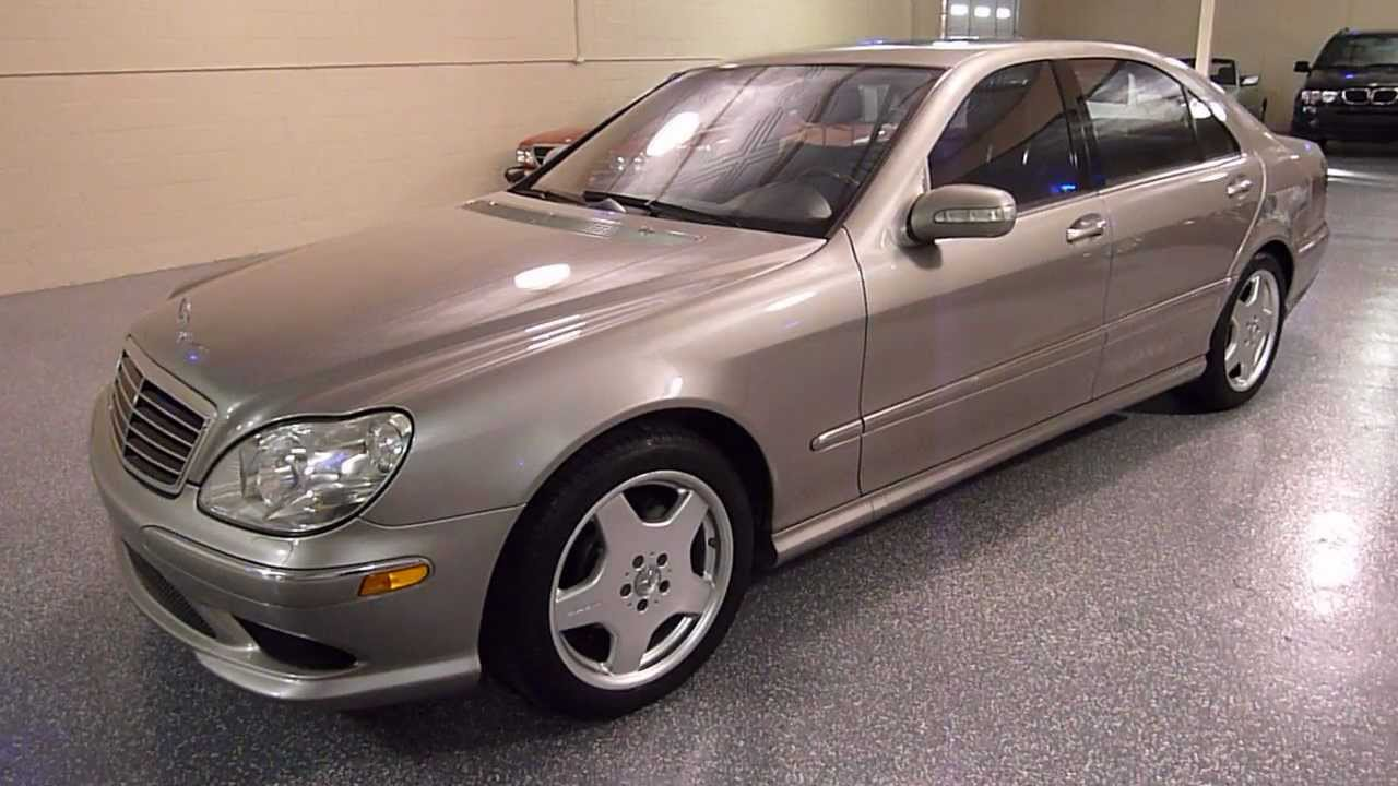 2005 mercedes benz s500 4dr sedan 5 0l amg sport package for Mercedes benz s500 amg