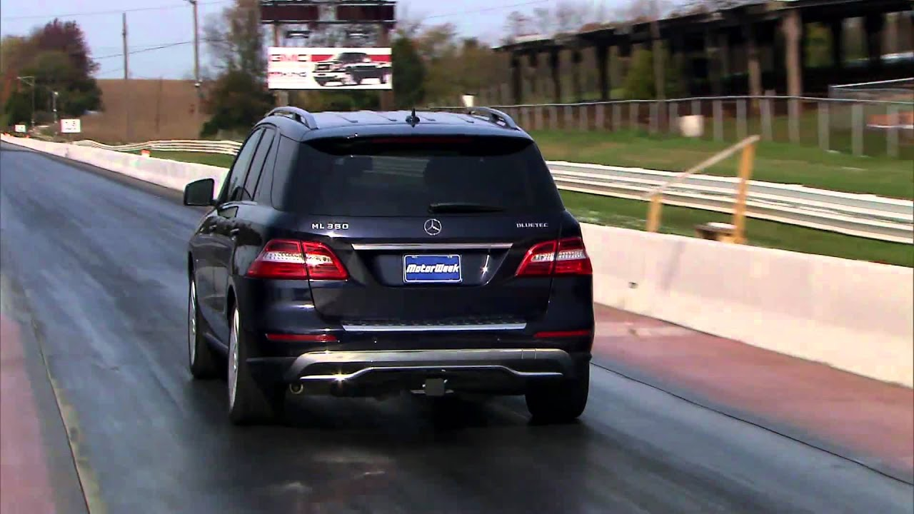 Road Test 2012 Mercedes Benz Ml350 Bluetec Youtube