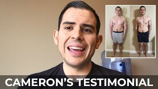Cameron's Journey from 350 lbs - RippedBody.com Client Testimonial