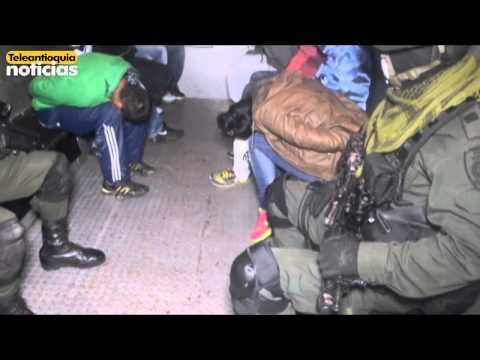 Capturados 16 integrantes de la banda delincuencial