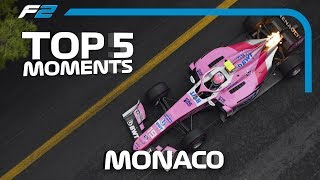 Top 5 Formula 2 Moments | 2019 Monaco Grand Prix