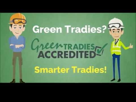 Becoming a Green Tradie