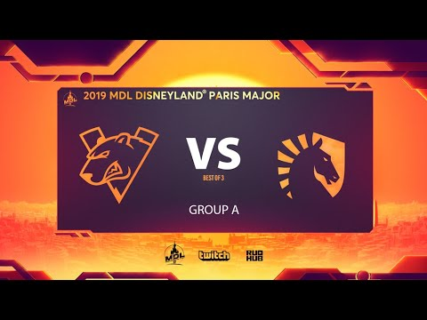 Virtus.pro vs Team Liquid, MDL Disneyland® Paris Major, bo3, game 1 [NS & Adekvat]