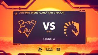Virtus.pro vs Team Liquid, MDL Disneyland® Paris Major, bo3, game 1 [NS & Adekvat]