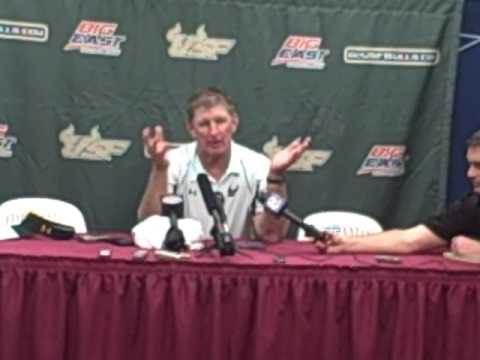 Jim Leavitt Post-Game vs. FSU