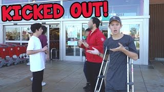 THEY FORCED US TO LEAVE!