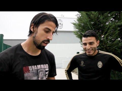 Freestyler Touzani vs Khedira  Juventus