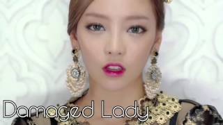 [KARA] - All singing/rap parts GOO HARA - Korean singles Kara