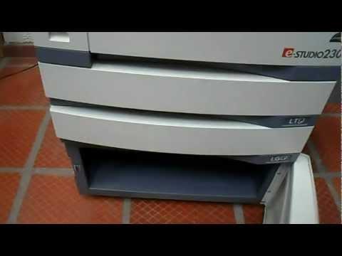 TOSHIBA e-studio 202 230 232 280 282 FOTOCOPIADORA funciones opcionales de IMPRESION Y SCANNER