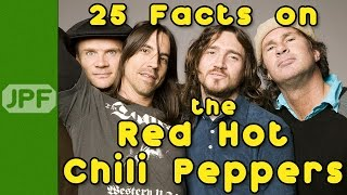 25 Facts on the Red Hot Chili Peppers