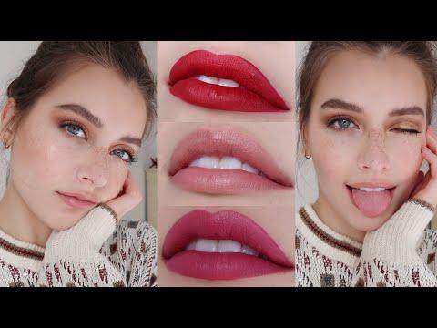 Natural Holiday Makeup Tutorial - Gold Smokey Eye | Jessica Clements