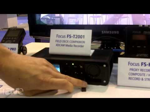 InfoComm 2013: VITEC Shows the FS-T2001 Digital Recorder