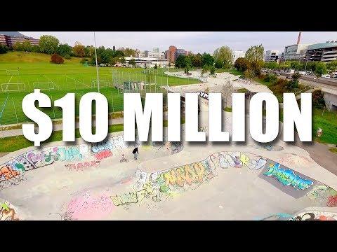 10 Million Dollar Skatepark!